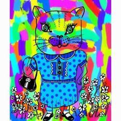 Carol the cat #art #draw #doodle, #digitalart #drawing