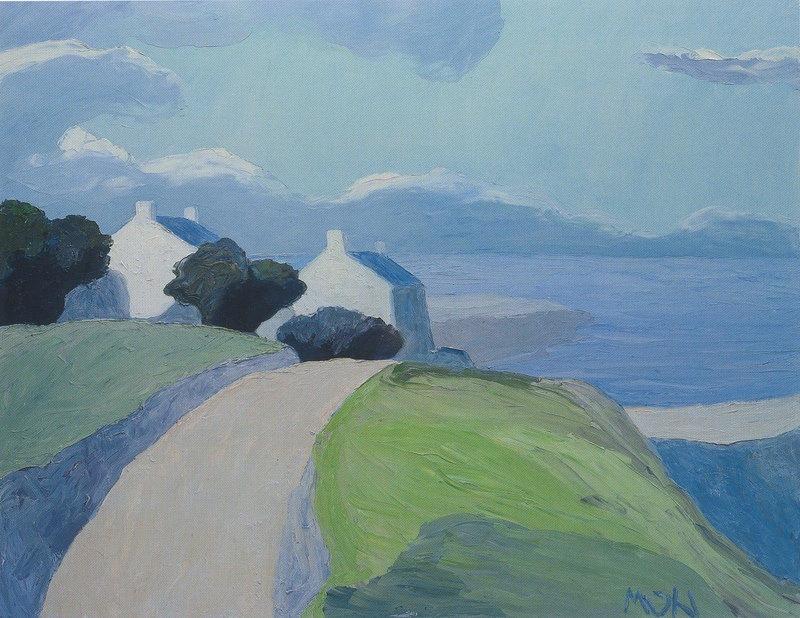 """terminusantequem: """"Roger Mühl (French, 1929-2008), Lumière du matin, 2007. Oil on canvas, 114 x 145 cm """""""