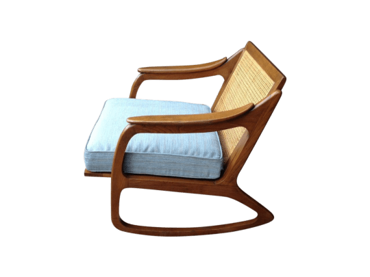 Lawrence Peabody For Nemschoff Rocking Chair