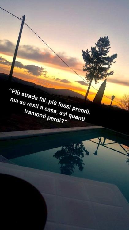frasi tramonti  Tumblr