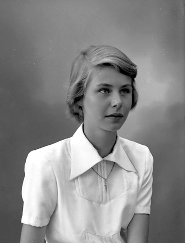 Christa Goldbeck-Löwe, 1950, Sweden. She was 15 years old in…