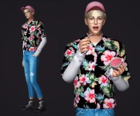 M_SHIRTS & CROPPED JEANS - The Sims 4 Download ...