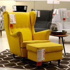 Strandmon Wing Chair Review Office Expensive Ikea Addict  Yellow Has Always Been One Of My Favorite