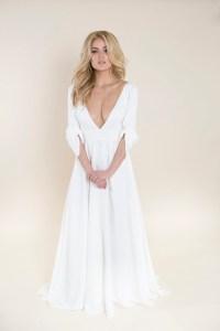 revealing wedding dress