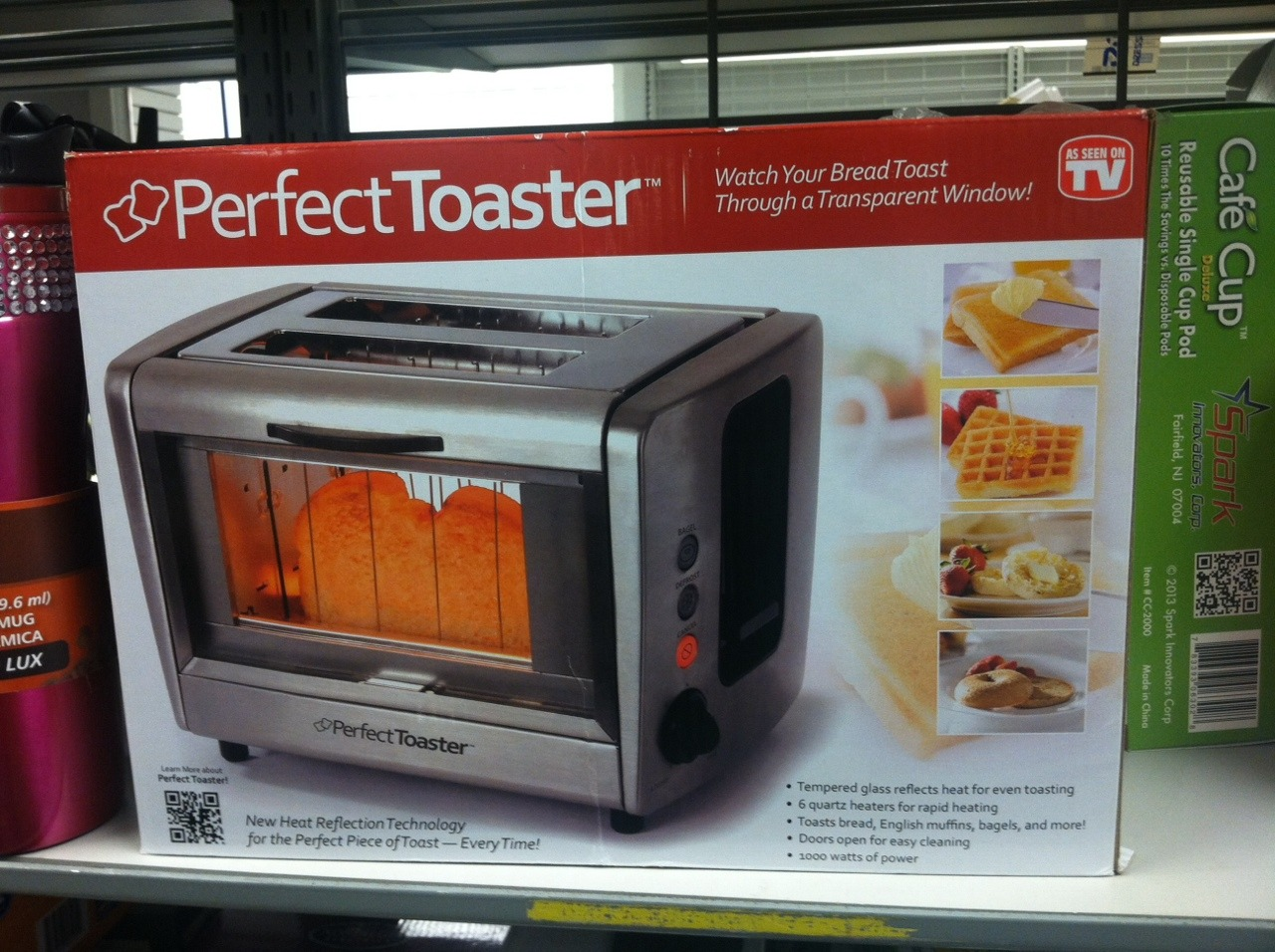"teaforyourginaa: "" dynastylnoire: "" sounddesignerjeans: "" strangelypensieve: "" trouserweasel: "" trouserweasel: "" LOOK THEY ACTUALLY DO HAVE TOASTERS WITH LITTLE WINDOWS SO YOU CAN WATCH YOUR FOOD GET TOASTED "" it looks like toast jail "" They've been..."