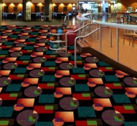 , Bowling alley carpeting