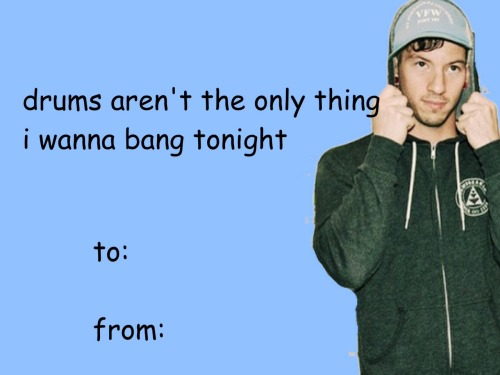 Twenty One Pilots Valentine Tumblr