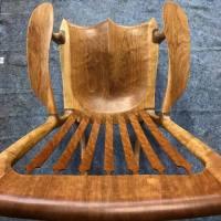 custom wooden rocking chairs