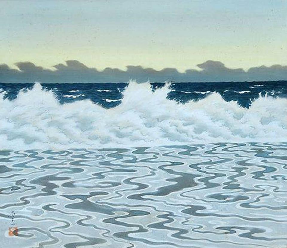 "huariqueje: "" Morning Tide - Koichi Okumura , 1950s Japanese, 1904-1974 """