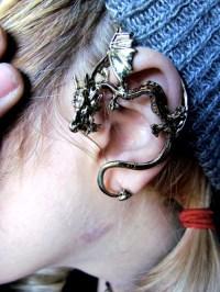 dragon cuff earring | Tumblr