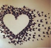 DIY NEWS  Butterfly wall art!