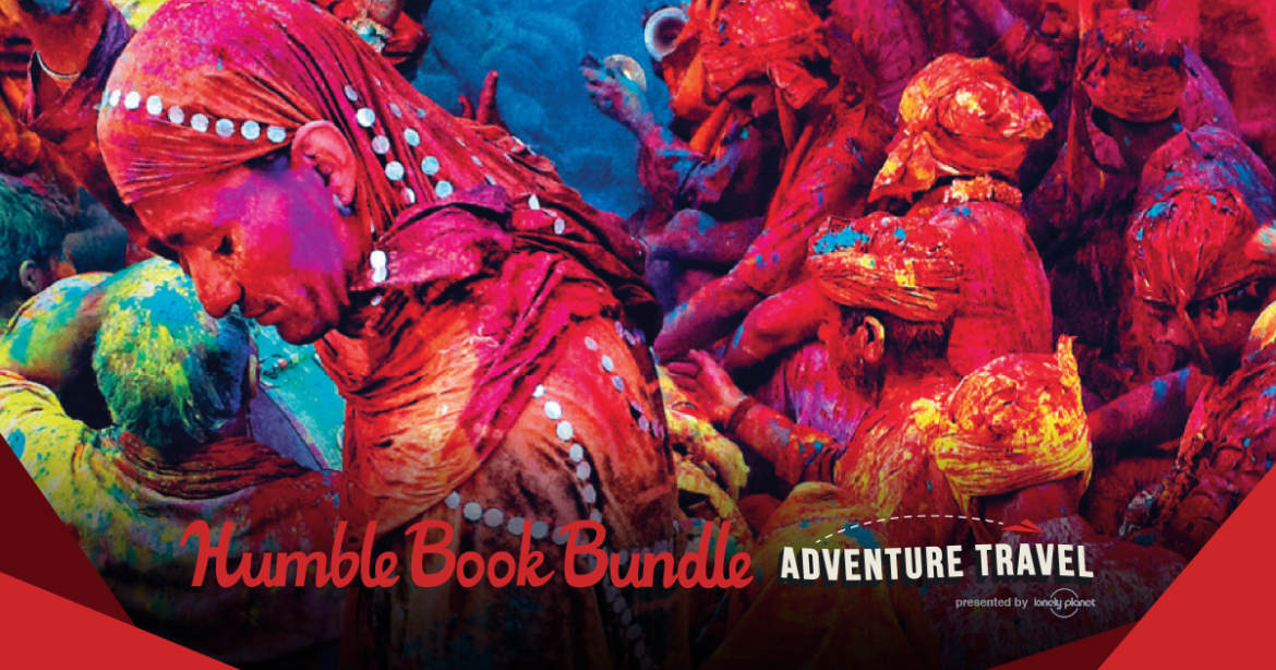 Humble Book Bundle: Adventure Travel presented by Lonely PlanetDo you want adventure in the great wide somewhere? This Lonely Planet book bundle is your ticket outta here. Get Secret Marvels of the World, A Spotter's Guide to Film (and TV) Locations,...