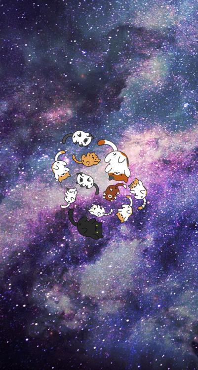 Cute Neko Anime Girl Wallpaper Cute Lock Screen Tumblr