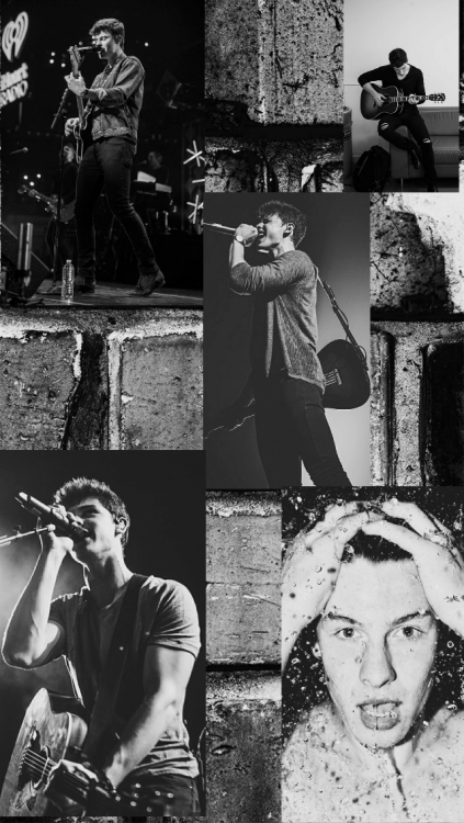 Iphone X Collage Wallpaper Shawn Mendes Collage Tumblr