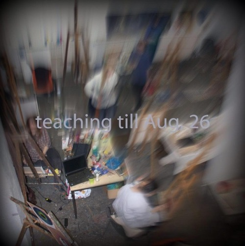 teaching til Aug, 26 then studio time again :)⠀⠀#christophkern #berlin