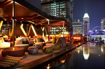 Singapore Hotel Rooftop Bar
