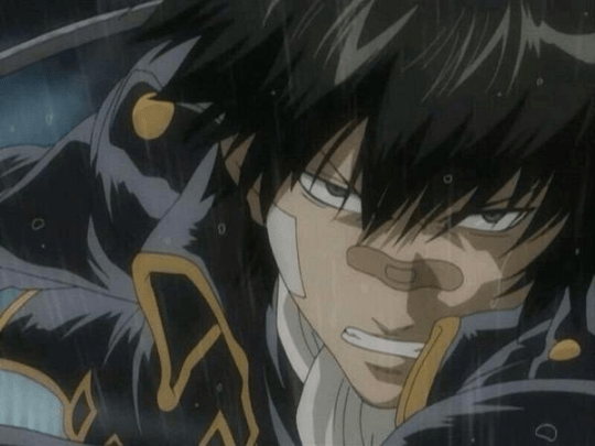 anime boy with black hair
