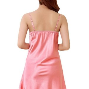 Women's Sexy Lace Nightgown Straps Nightshirts Satin Chemises Slip Sleepwear. , August 27, 2017 at 06:21PM