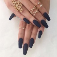 matte acrylic nails | Tumblr