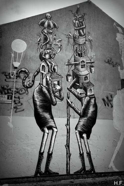 thethingsiveseen-photography:Sheffield street art.