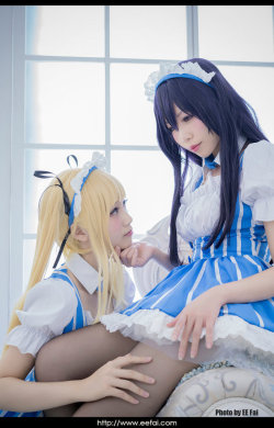 Utaha Eriri Cosplay 03 by eefai  Check out http://hotcosplaychicks.tumblr.com for more awesome cosplay