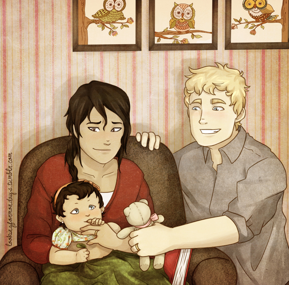Katniss And Her Family Eating