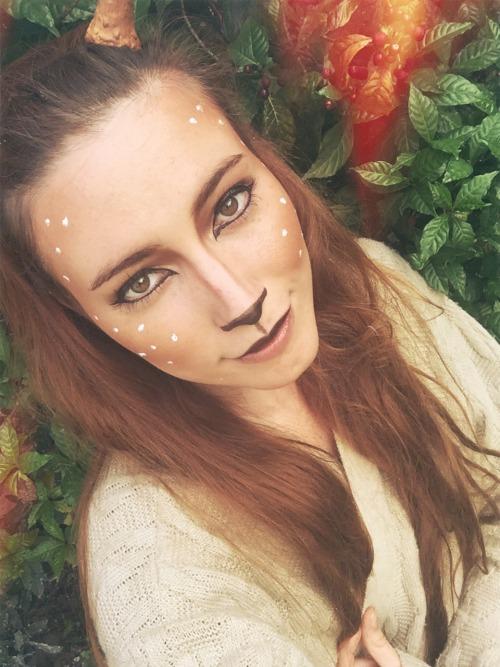 Reindeer Makeup Tumblr