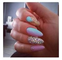 oval shaped nails | Tumblr