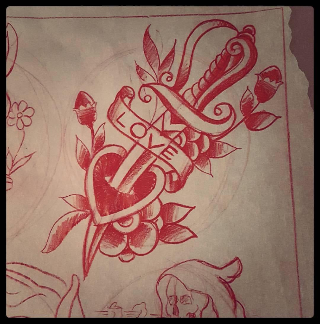 hidden rose tattoos