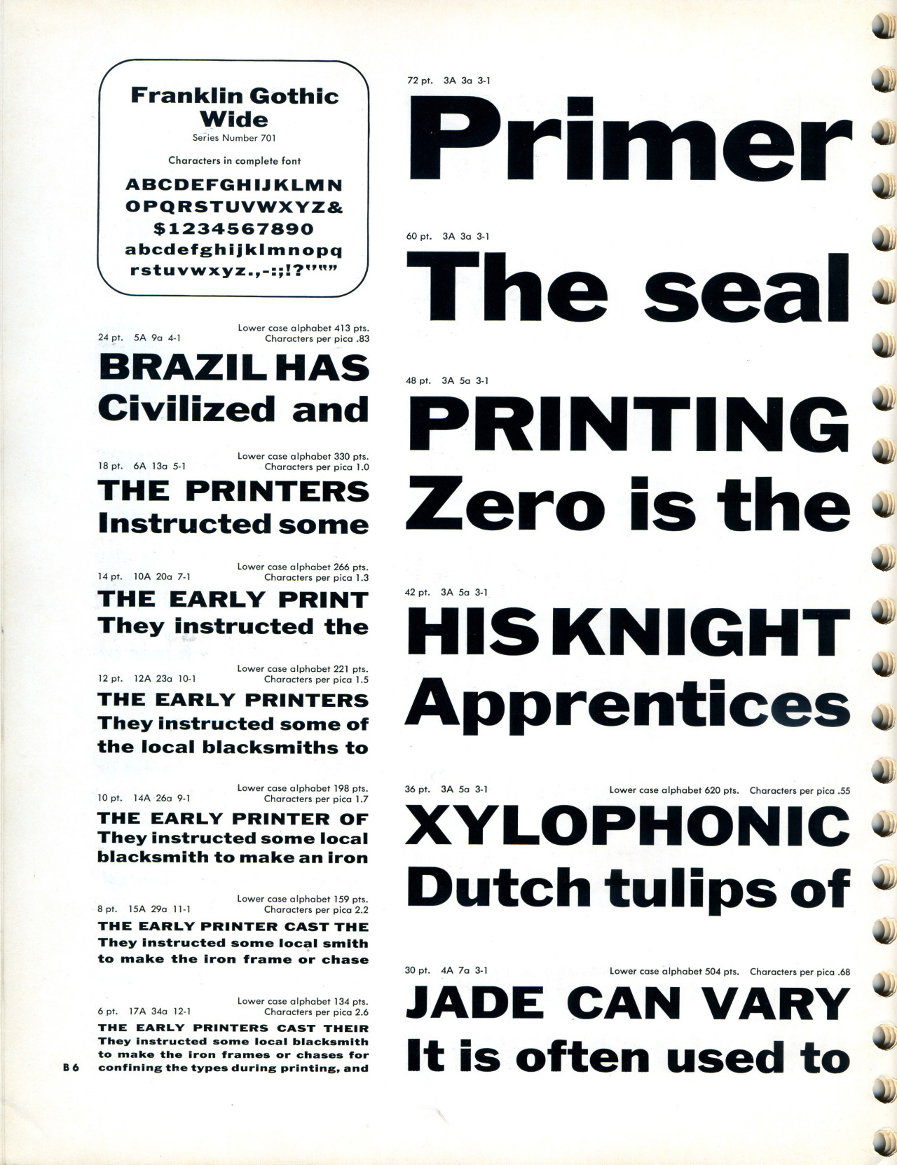 Daily Type Specimen — Josef Albers first designed these