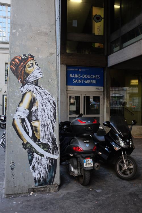 salsasta:  Eddie Colla, Rue Saint Merri, Paris, 10/2016