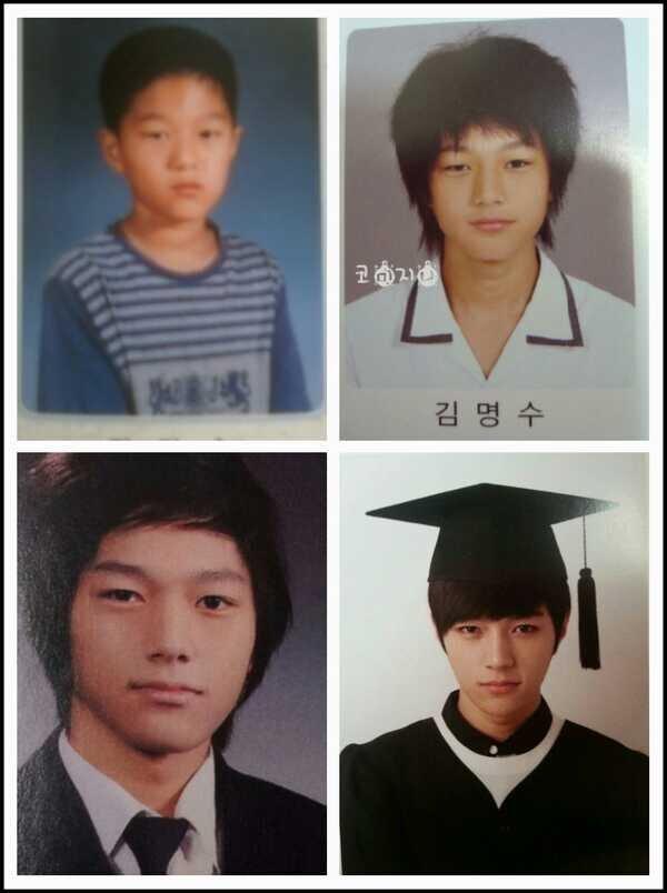 Imagini pentru myungsoo graduation