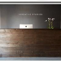 | Reclaimed Wood/steel top reception desk