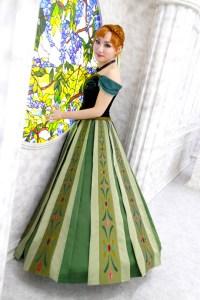 Princess Anna(coronation dress) cosplay from...