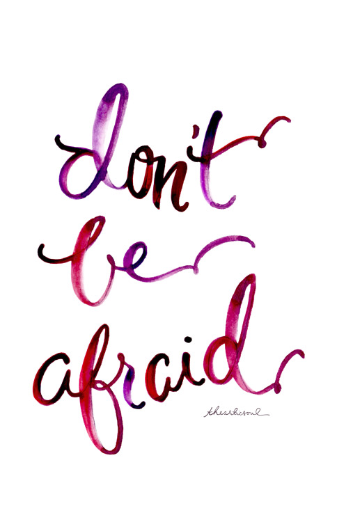 Image result for don't let fear stop you from doing what you love
