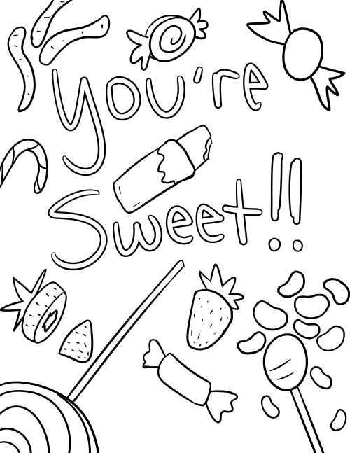 Self Care Coloring Pages Coloring Pages