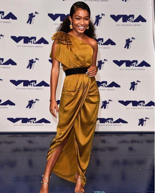 Yara Shahidi MTV Dress