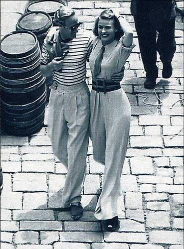 "indypendent-thinking:"" Leslie Howard and Ingrid Bergman 1938 """