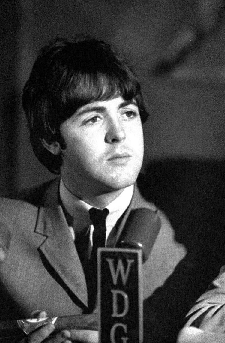Paul McCartney At A Press Conference