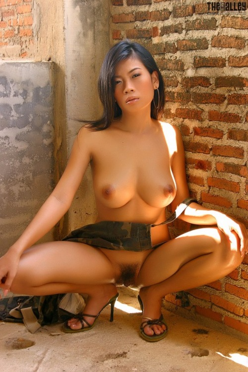 Sexy busty Thai babe nude Wang Shui Wen Hairy Pussy 3