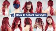 cute easy hairstyles school