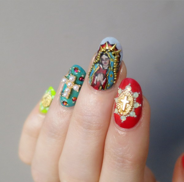 Our Lady of Guadalupe Nails