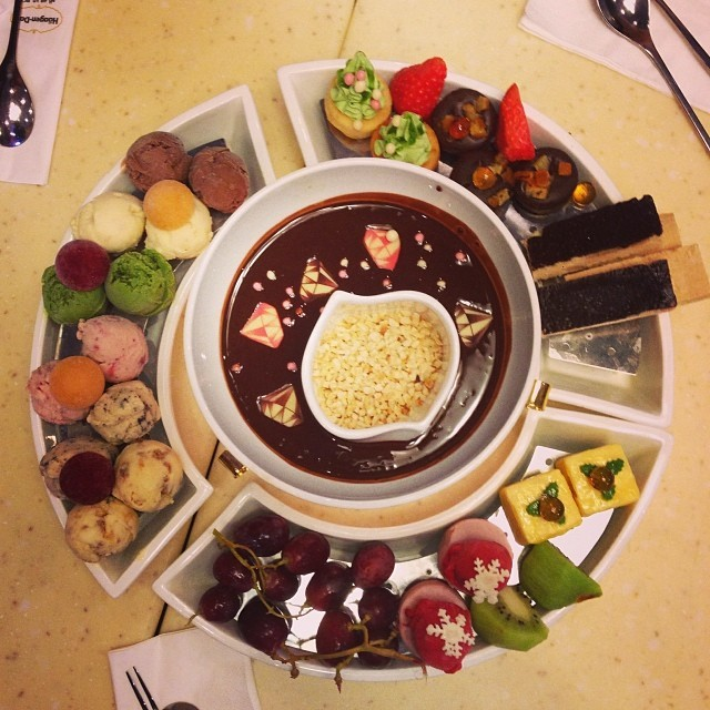 Image result for CLASSIC FONDUE AT HAAGEN-DAZS-
