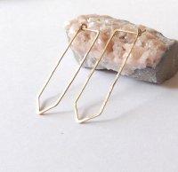 gold filled hoop earrings | Tumblr