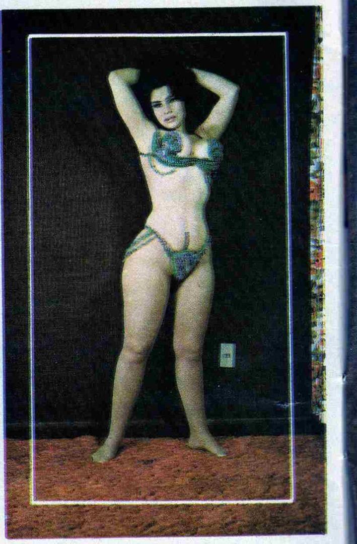 Vintage showgirlActress Mara del Rosario Mendoza Rossy