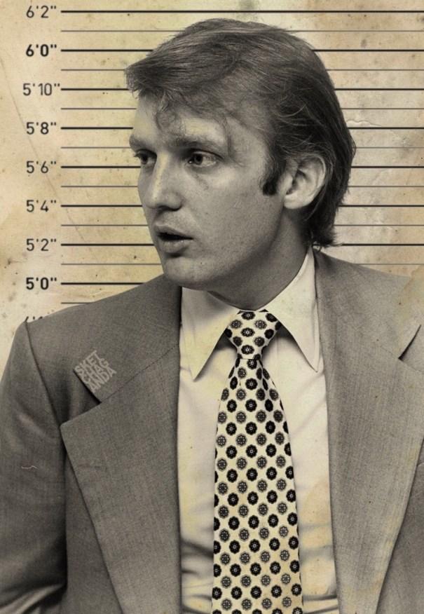 2601d4cf Donald Trump mugshot by Sketchaganda – UK Election