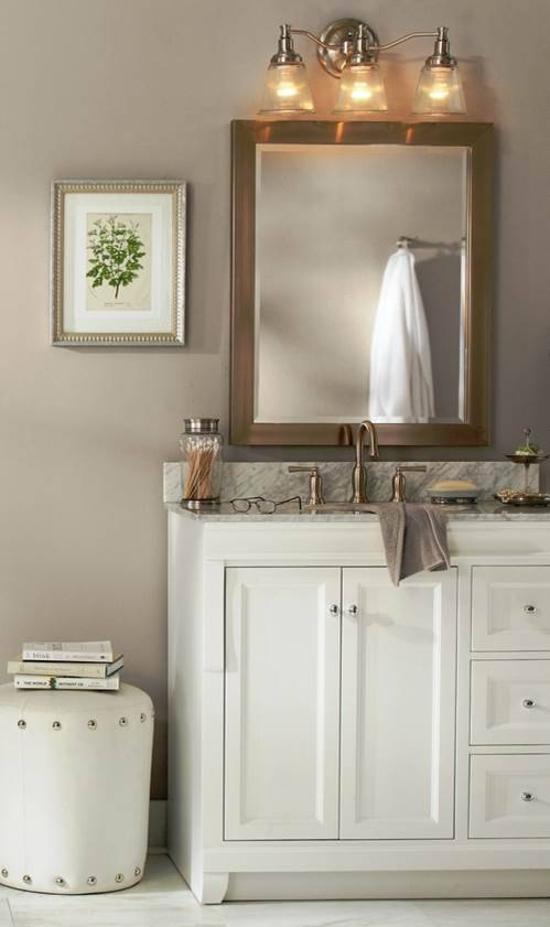 Color of the Week Glidden Stone Harbor Greige  Design Meet Style