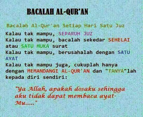"""bersamadenganmu: """"Keutamaan dan Motivasi Membaca Alquran di Bulan Ramadhan Bulan Ramadhan adalah bulan Alquran, maka dari itu hendaknya seorang muslim memberikan porsi perhatian yang lebih terhadap Alquran di bulan ini. Mengenai keutamaan membaca..."""