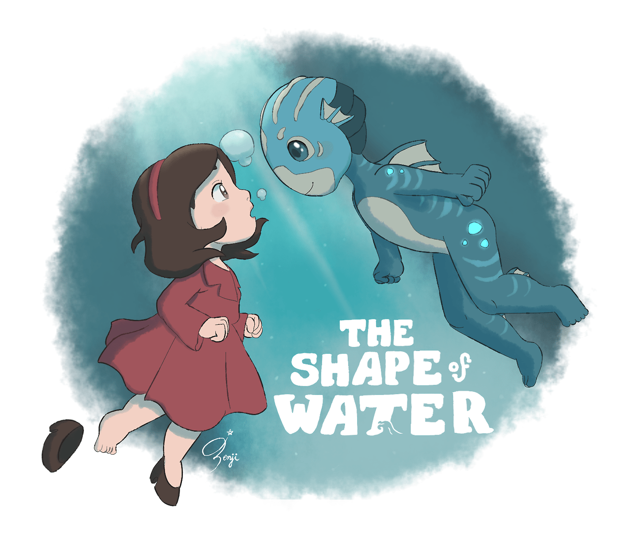 6f6dc543210 l8enji:Ponyo / The Shape of Water – Glamrock