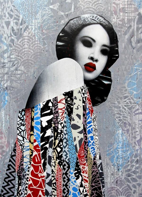Contemporary Japanese Artist Hush